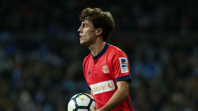 Odriozola, sobre su fichaje por el Madrid: «Mi futuro ahora mismo es la selección»