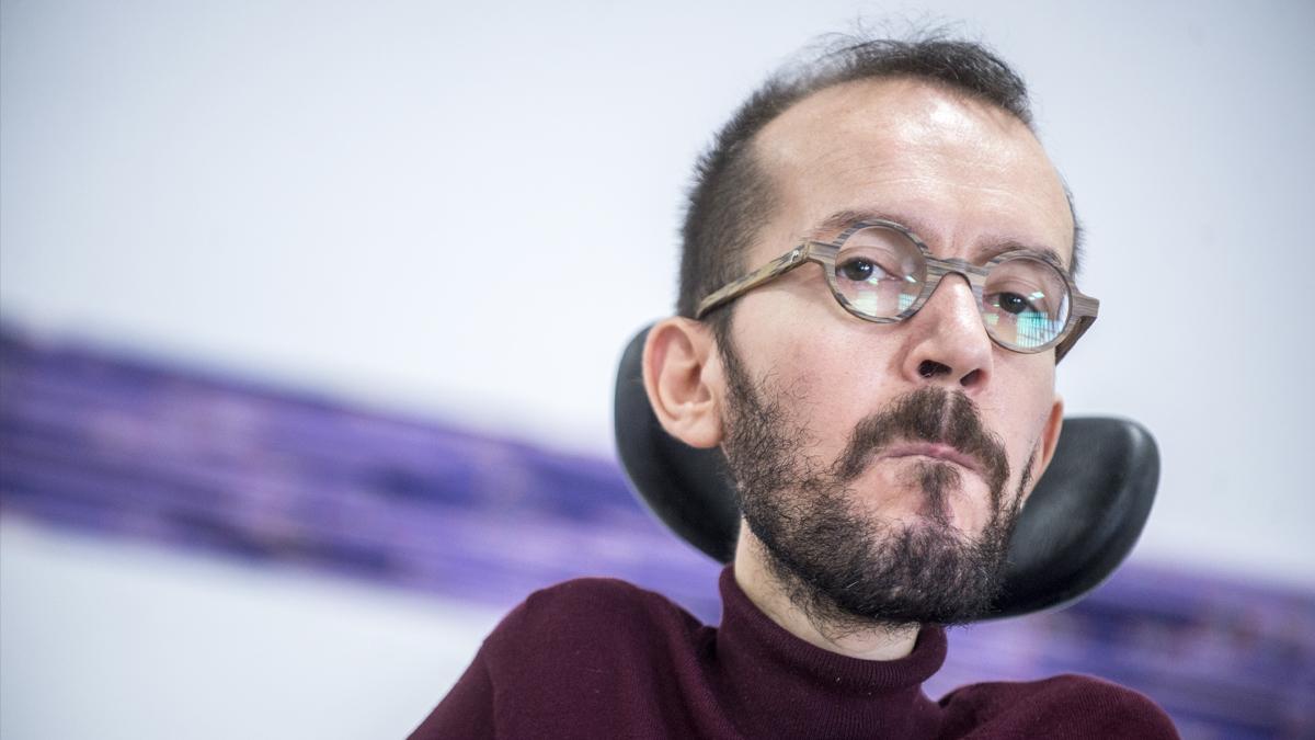 Pablo Echenique, secretario de Organización de Podemos. (Foto: Podemos)