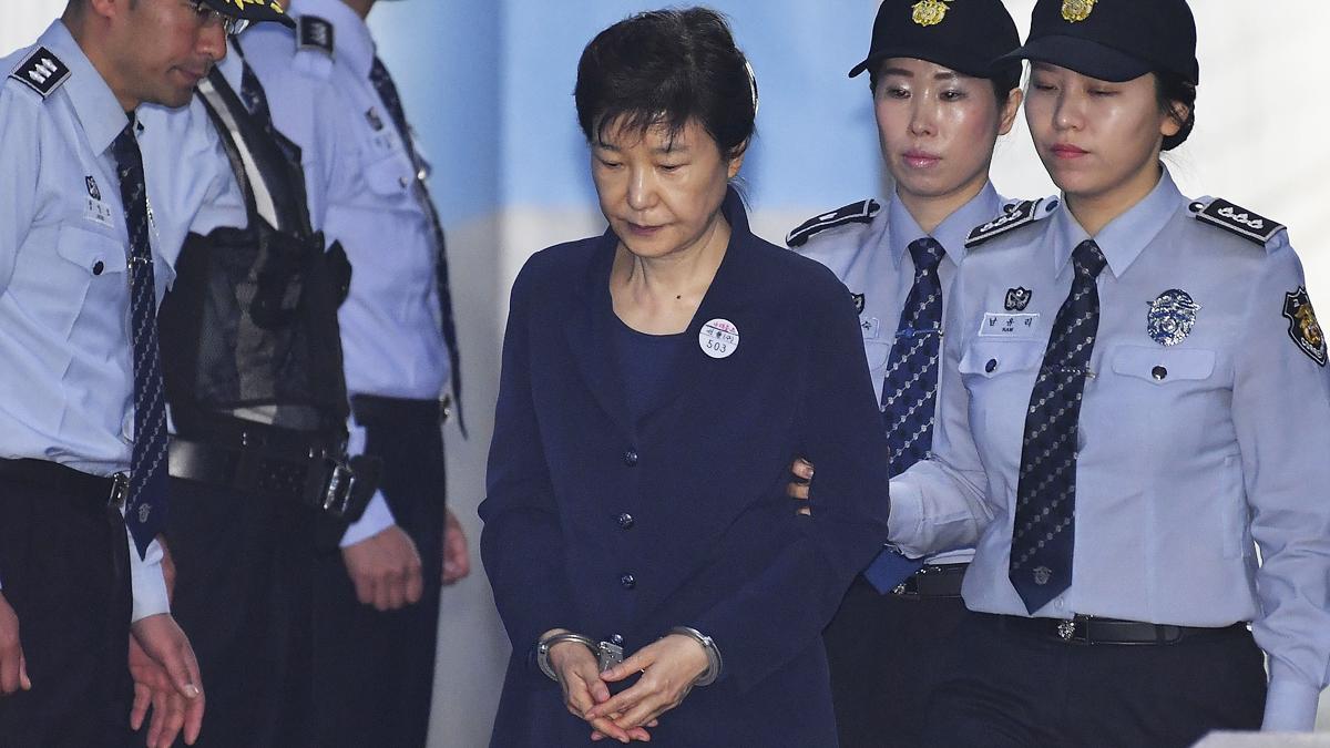 Park Geun-hye, ex presidenta de Corea del Sur. (Foto: Getty)