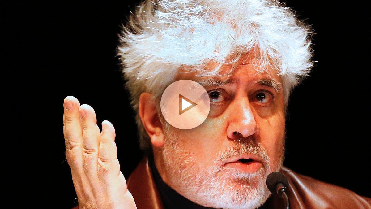 El director de cine Pedro Almodóvar