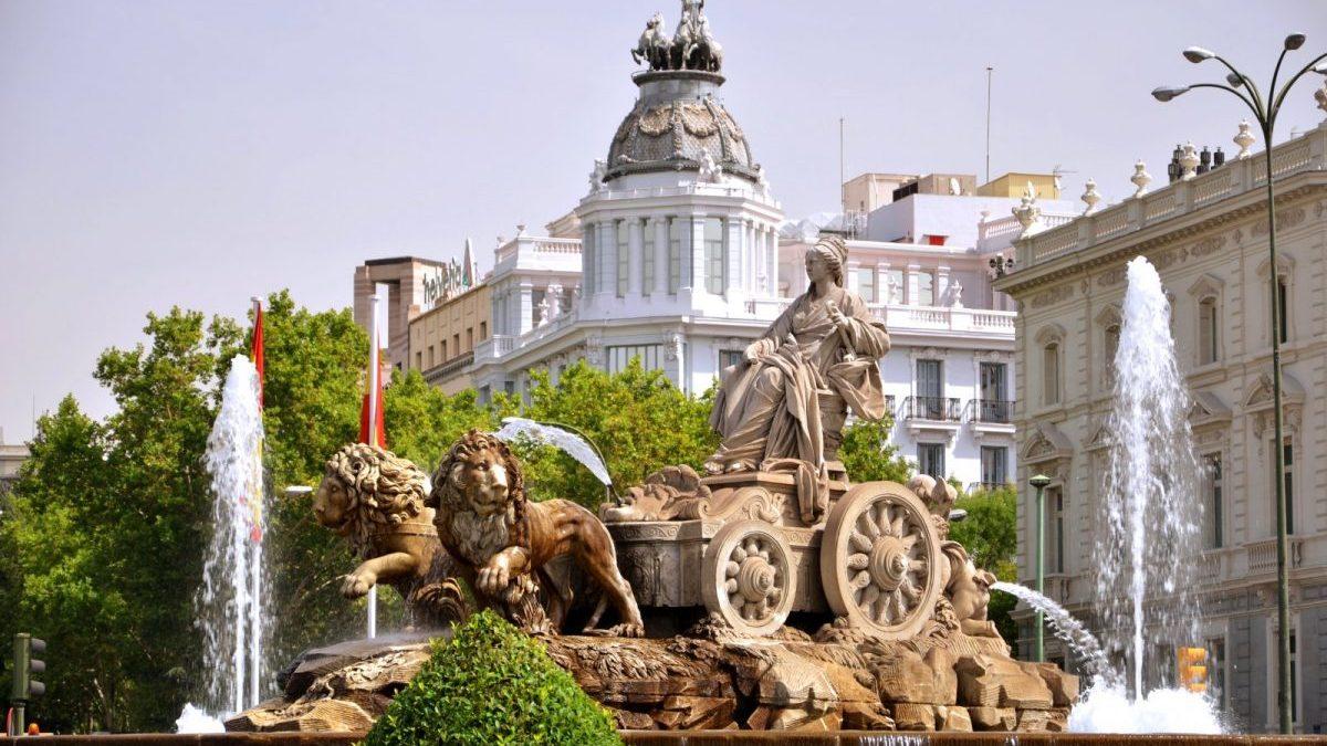 Plaza de Cibeles (Foto. Getty)