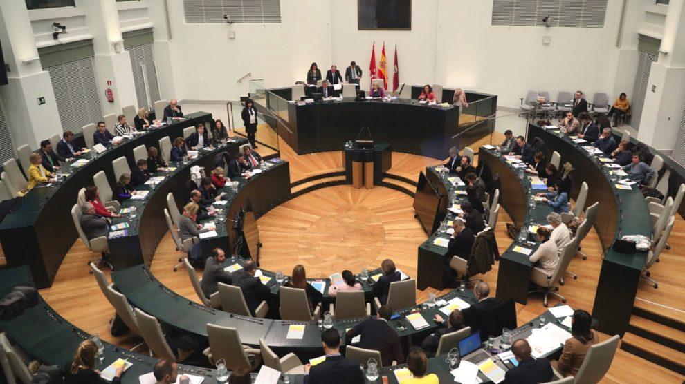 El pleno de Cibeles reunido. (Foto: Madrid)