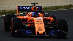 Fernando Alonso a bordo del McLaren MCL33