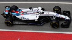 Sirotkin a bordo del Wiliams FW41 (Getty)