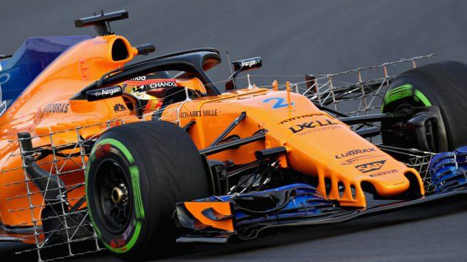 Stoffel Vandoorne con el McLaren MCL33