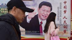 Cartel de Xi Jinping.
