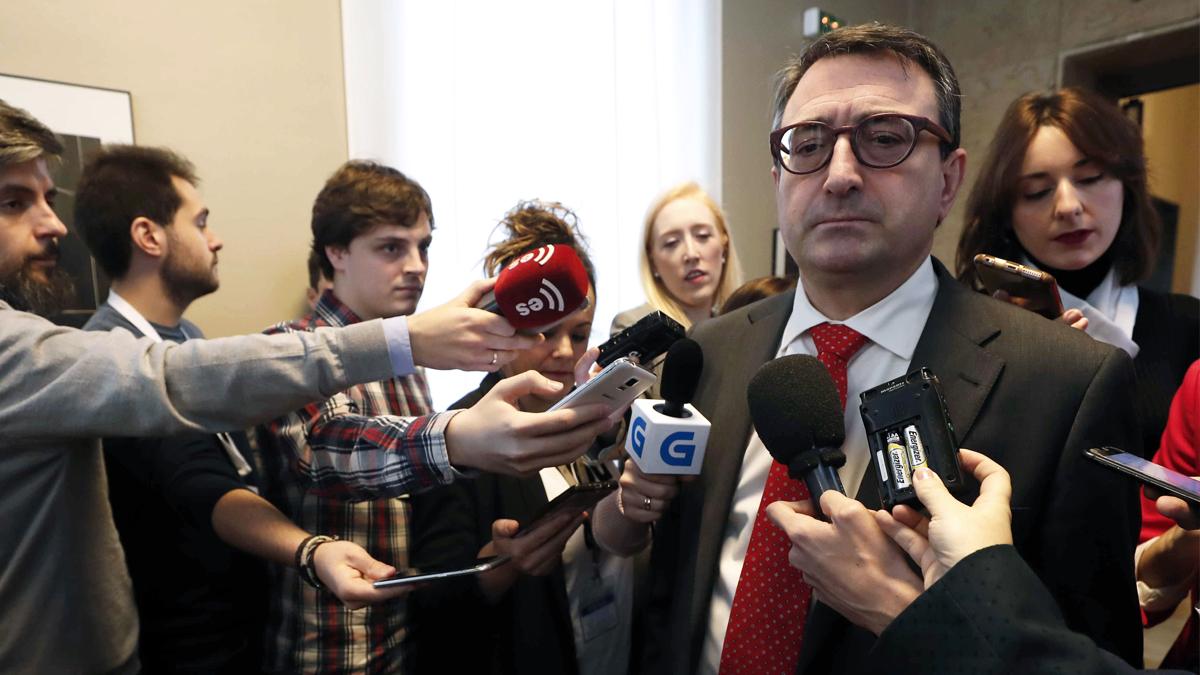 Aitor Esteban, portavoz del PNV en el Congreso de los Diputados. (Foto: EFE) | Presupuestos 2018