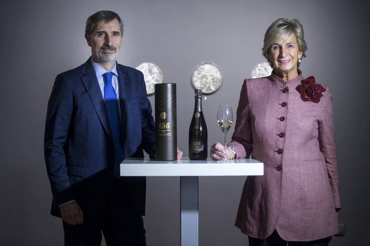 Mar Raventós y Javier Pagés, presidenta y CEO de Codorníu, respectivamente