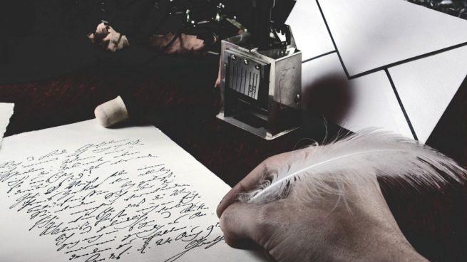 Resultado de imagen para imágenes de poeta escribiendo