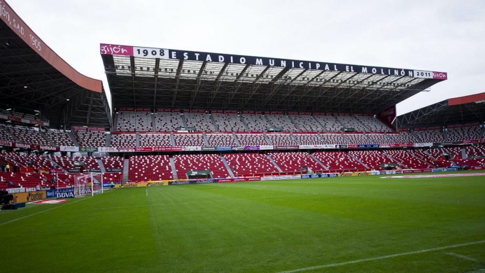 Estadio Municipal El Molinón. (Getty)