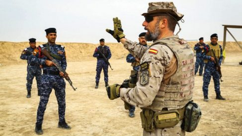 Militares españoles en Irak (Foto: Estado Mayor)