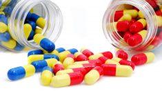 El omeprazol solo requiere una dosis diaria de 20 miligramos.