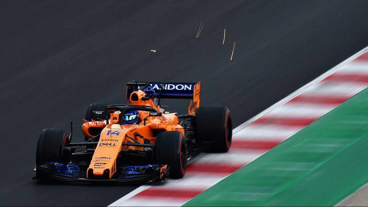 Fernando Alonso, durante una carrera de esta temporada.
