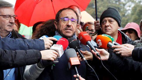 Andrés Perelló, secretario de Justicia del PSOE. (Foto: EFE)
