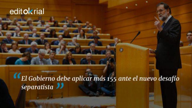 Es muy sencillo: si no se cumple la ley, más 155