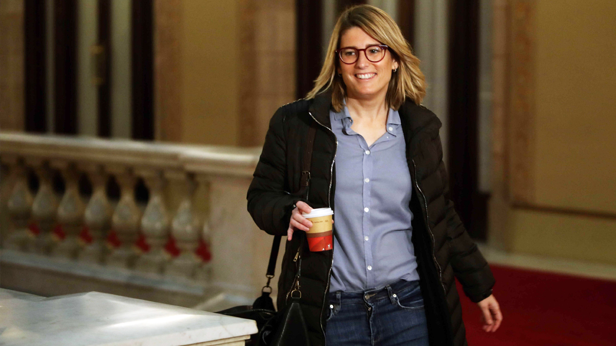 Elsa Artadi, diputada de JxCat. (Foto: EFE)