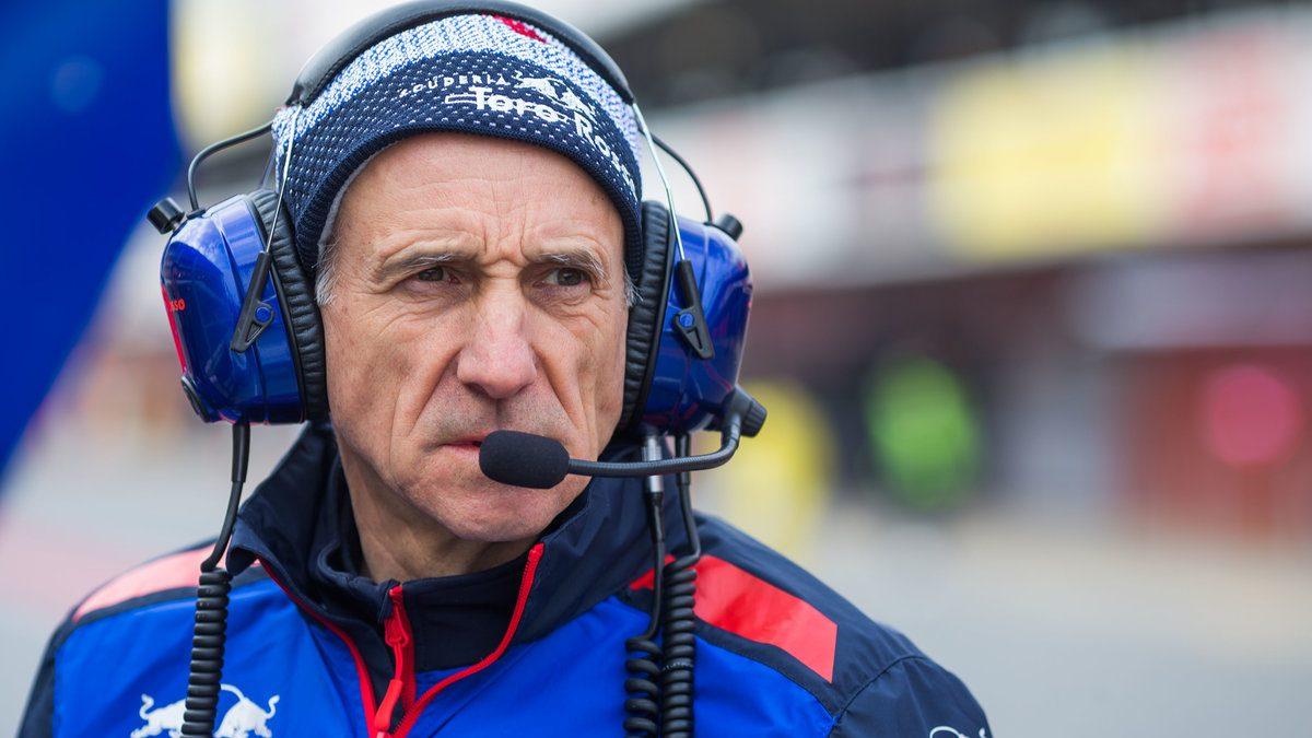 Franz Tost, jefe del equipo Toro Rosso-Honda