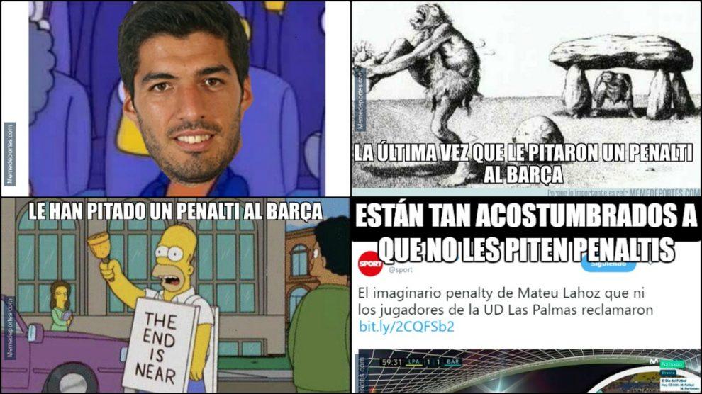 Los mejores memes del Las Palmas – Barcelona.