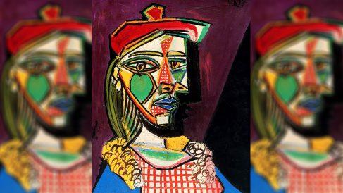 'Mujer con boina y vestido de cuadros', de Pablo Picasso.