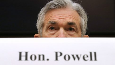 El presidente de la Reserva Federa, Jerome Powell (Fuente: GETTY).