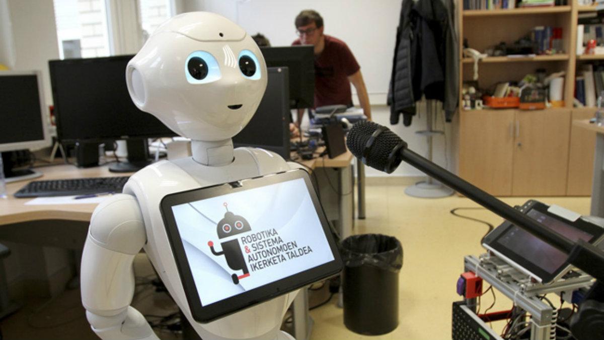 BertsoBot, es el robot capaz de cantar y analizar melodías. UPV/EHU