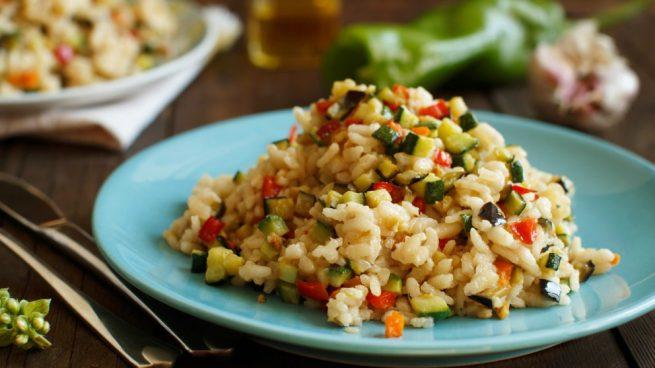 arroz con espardeñas