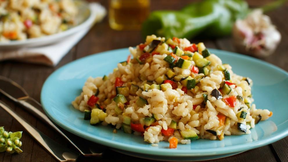 Receta de arroz con espardeñas paso a paso