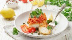 Receta de bacalao con tomate fácil de preparar paso a paso