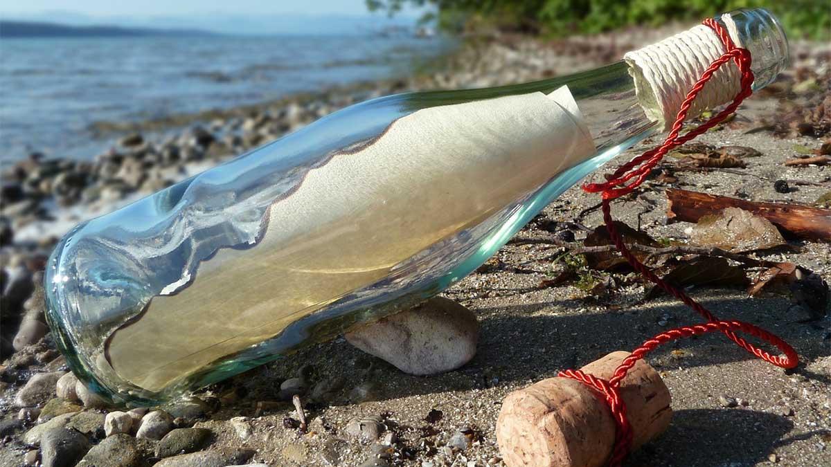 Una pareja de Puerto Rico ha encontrado recientemente el mensaje en una botella que dos marineros gallegos lanzaron al Atlántico Norte en 2016