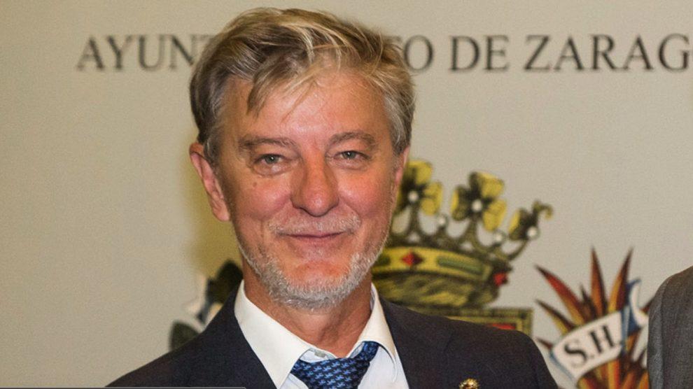 Pedro Santisteve, alcalde de Zaragoza. (Foto: Ayto.)