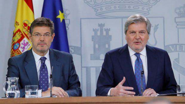 Rafael Catalá e Iñigo Méndez de Vigo