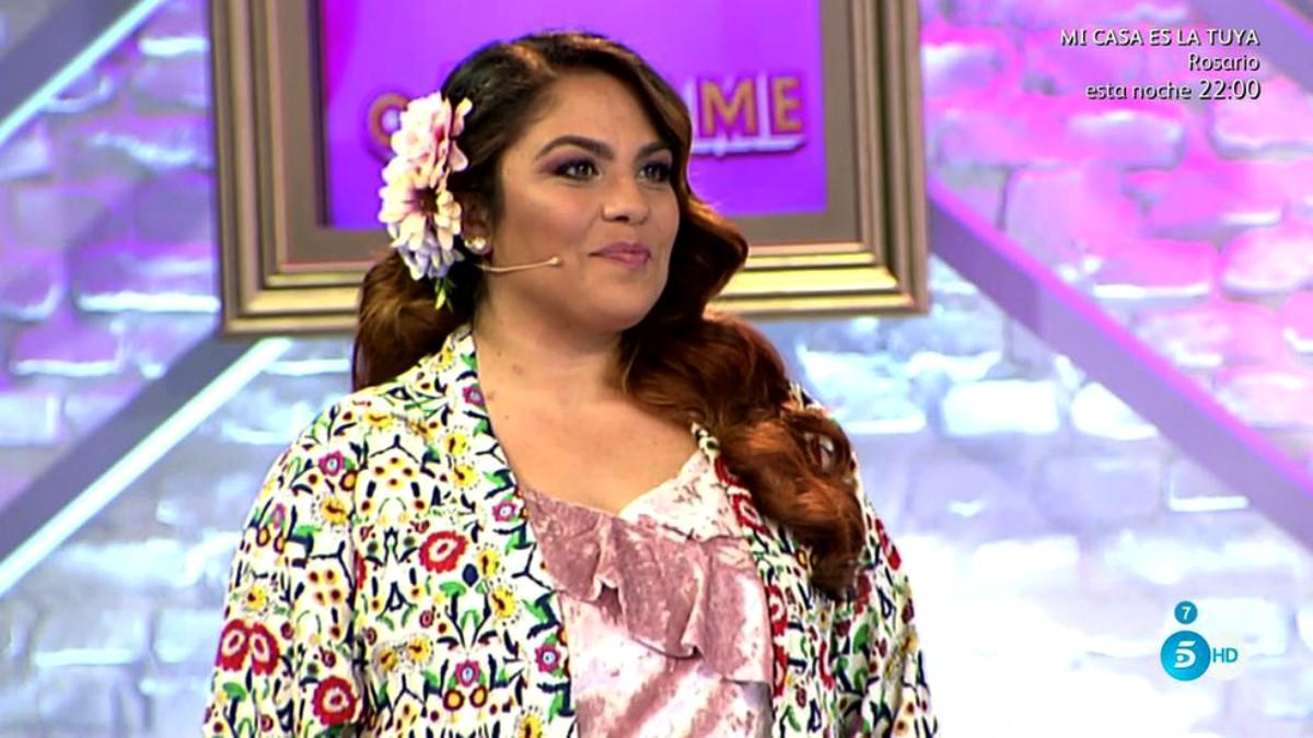Saray Montoya en 'Cambiame' (Foto: Telecinco).