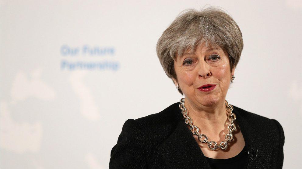 Theresa May, primera ministra de Reino Unido. (AFP)