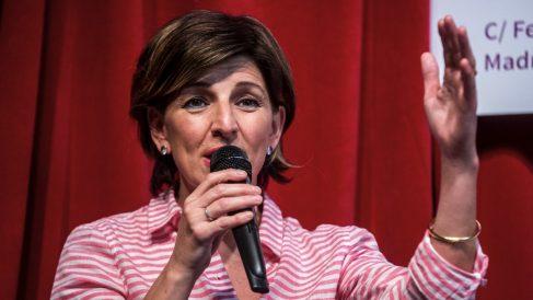 Yolanda Díaz, portavoz de En Marea en el Congreso.
