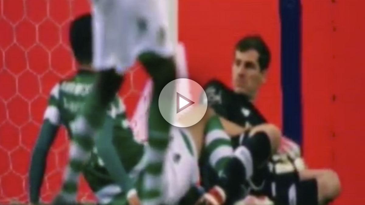 Casillas realiza un paradón ante el Sporting. (vídeo: Okdiario)