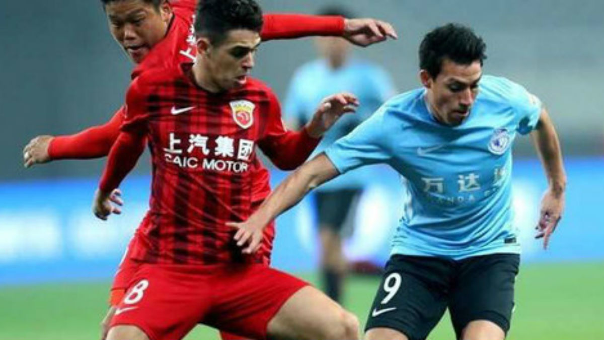 Gaitán debuta en China.
