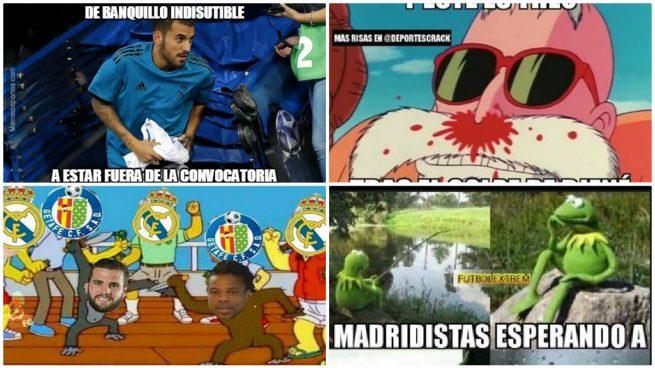 Los mejores memes del Real Madrid – Getafe