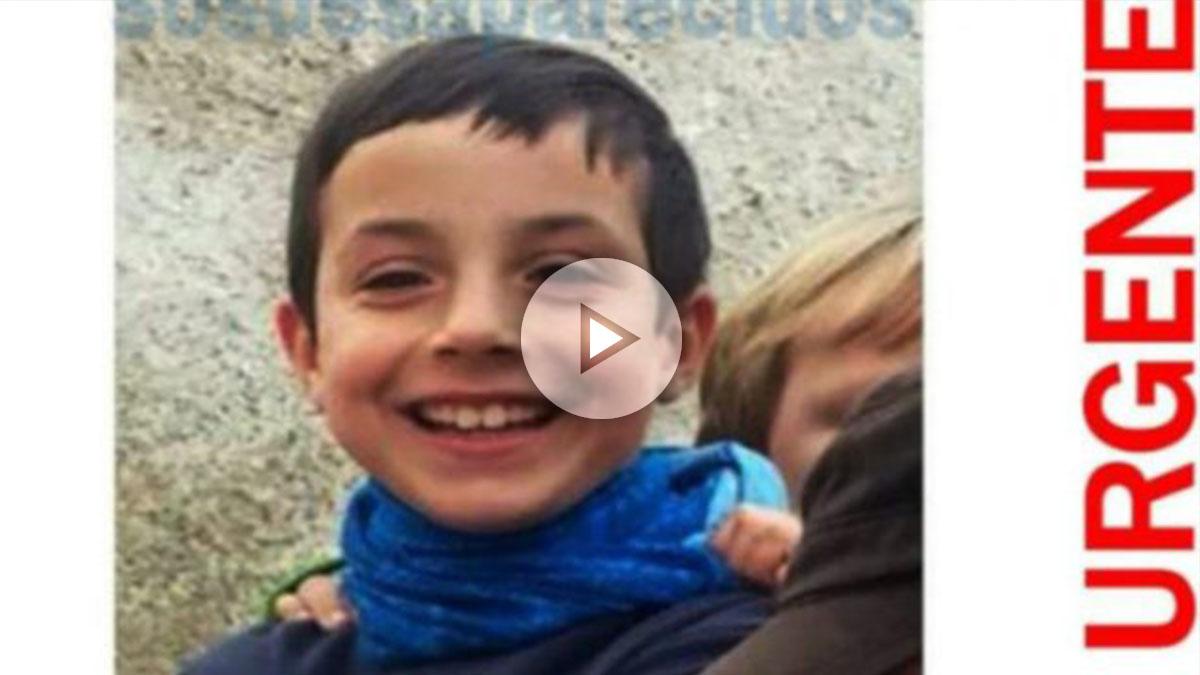Imagen de Gabriel, el niño de 8 años desaparecido en Las Hortichuelas, Níjar (Almería).