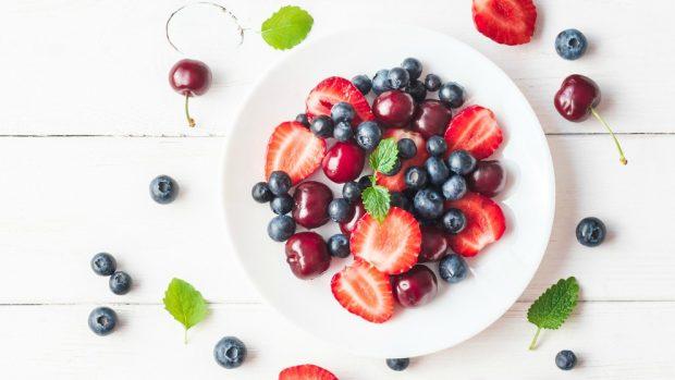 Receta de sorbete de frutos rojos sin azúcar