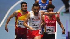 Saúl Ordóñez hizo historia en los 800 metros. (Getty)