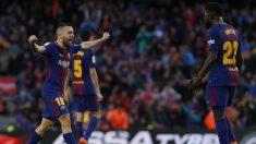 El Barcelona venció al Atlético y ya está ocho puntos por encima. (AFP)