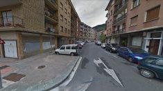 La calle Errekazarra de Guernica (Vizcaya).