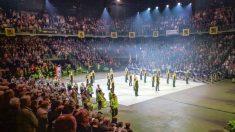 Festival Nacional de la Canción Flamenca en Amberes, donde se ha recaudado dinero para los golpistas catalanes.