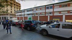 Fachada del colegio Lope de Vega, de Ceuta, donde trabajaba el detenido por abusos.