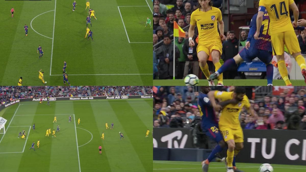 Todas las polémicas del Barcelona – Atlético.