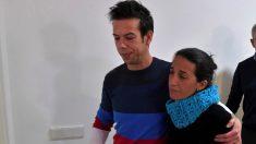 Angel Cruzy Patricia Ramirez, los padres del niño Gabriel desaparecido en el paraje de las Horticuelas en Nijar (Foto. EFE)