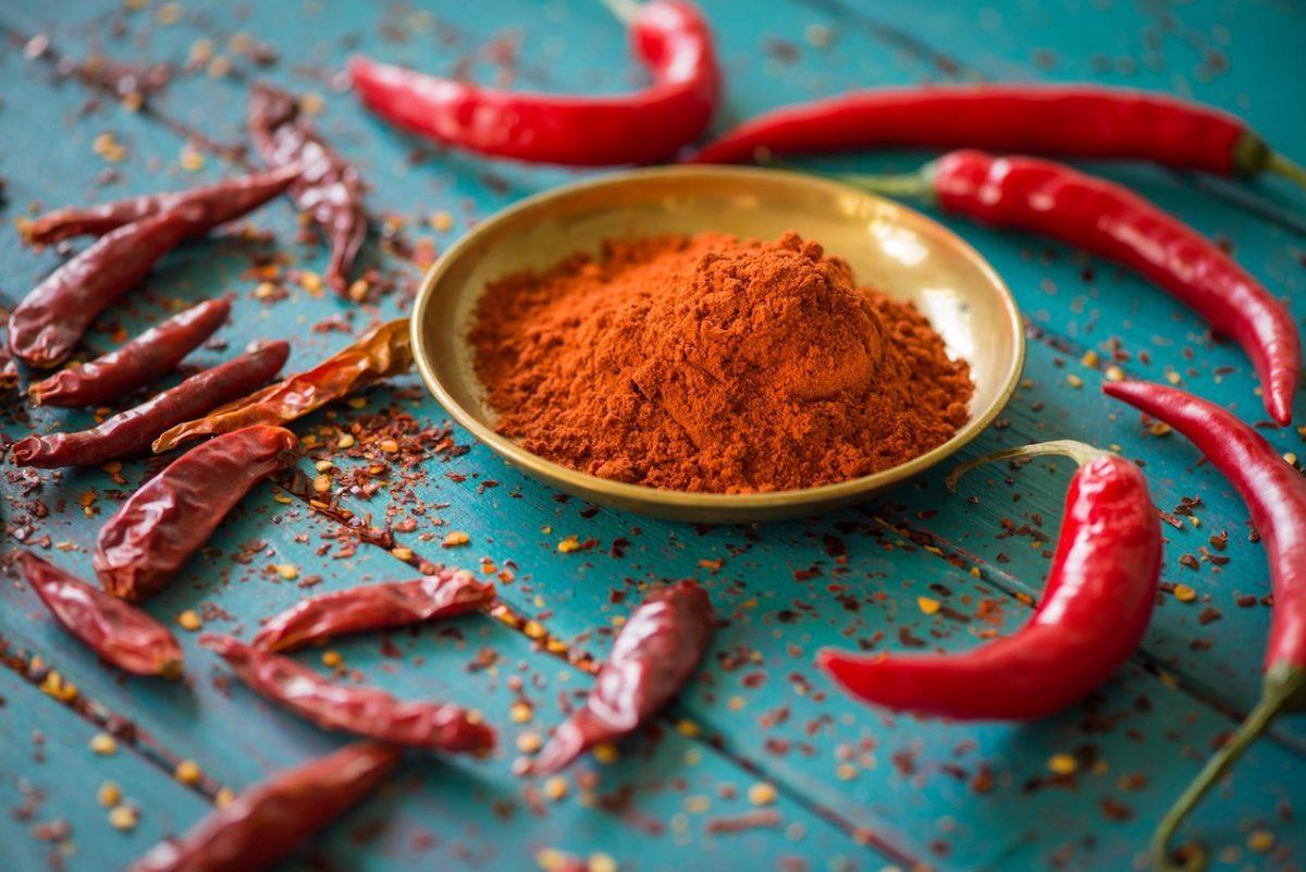 La pimienta de cayena es uno de los ingredientes más eficaces.