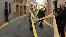 La bufanda amarilla en Caldas de Montbui