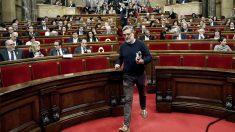 Carles Riera, portavoz de la CUP en el Parlament. (Foto: EFE)