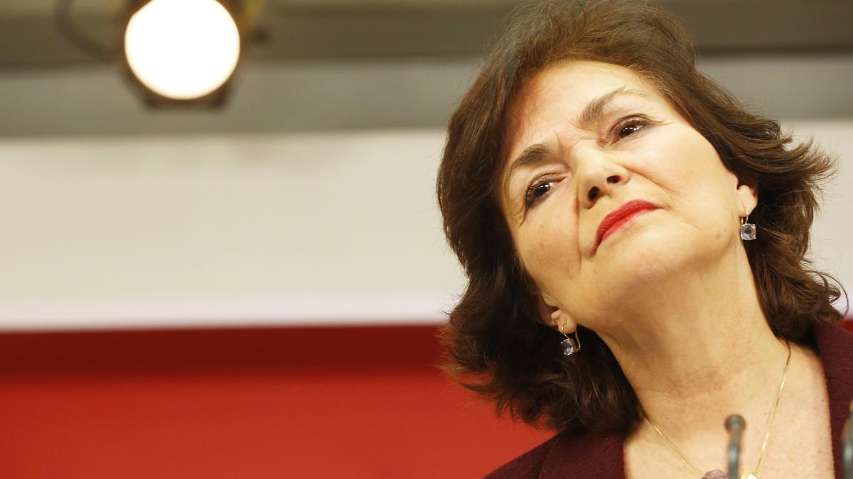 Carmen Calvo, vicepresidenta dle Gobierno (Foto: PSOE)